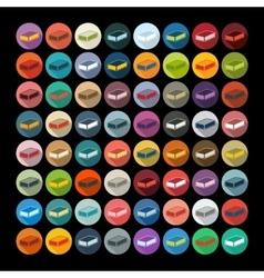 Flat design soap vector image