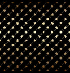 geometric golden and black seamless simple vector image