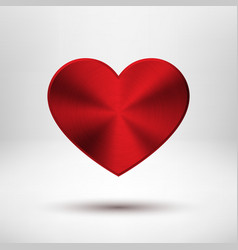 Red Valentines Day Heart vector