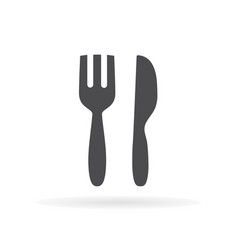 restaurant icon for web business finance and vector image
