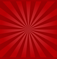 retro ray background with lines of red color vector image