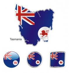 tasmania vector image vector image