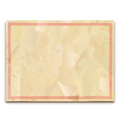 Old Paper Blank vector image vector image