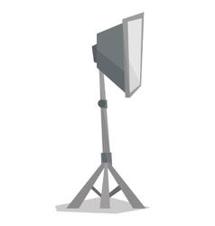 Photo studio lighting equipment vector image