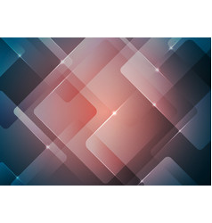 Abstract background geometric square overlay vector