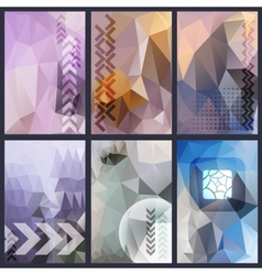 Abstract header background vector image