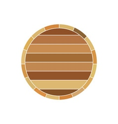 barrel-profile vector image