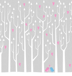 Love Forest vector image