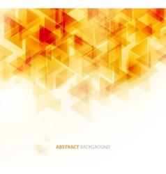 Orange shiny technical background vector