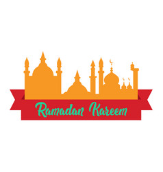 ramadan kareem graphic design vector image