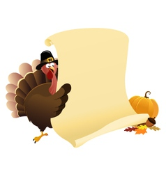 Thanksgiving Message vector image