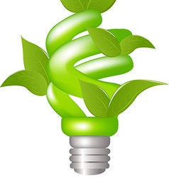 Green Lamp vector image vector image