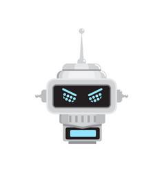 robot emotion emoji vector image