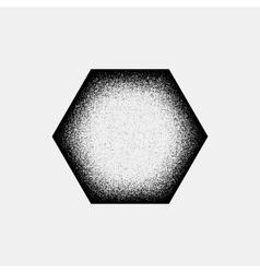 Abstract Polygon Badge vector