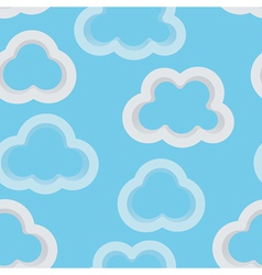 Clouds 3D vector image