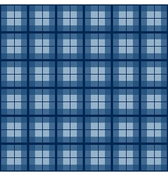 Navy Blue Tartan Background vector