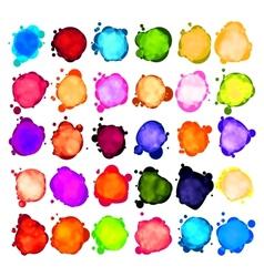 paint speech bubbles vector image
