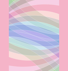 Pastel colored abstract background soft colors in vector