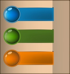Pure water design vector image