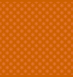 Retro simple stylized snowflake pattern wallpaper vector