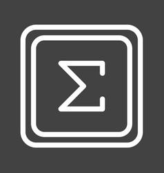Summation symbol vector