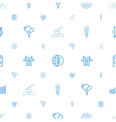 Wallpaper icons pattern seamless white background vector