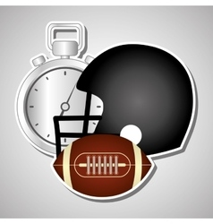 American football icon design vector image vector image