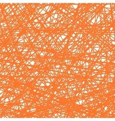 Grunge Orange Line Pattern vector image vector image