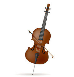 cello stock vector image
