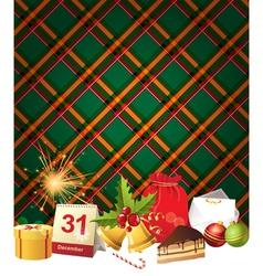 English Christmas3 vector image vector image