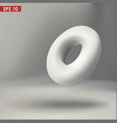 3d torus vector image