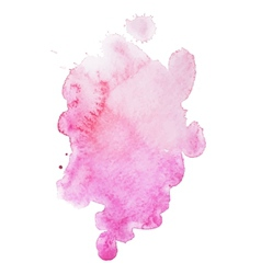 Abstract watercolor aquarelle hand drawn colorful vector image