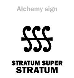 Alchemy stratum super stratum layer vector