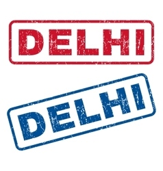 Delhi Rubber Stamps vector