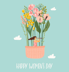 international women s day templates vector image