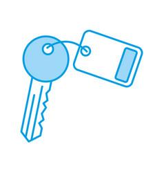 key room door icon vector image