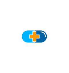 Medicine medical logo icon design vector