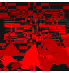 Red camouflage background vector