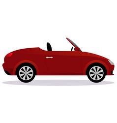 roadster car body type vector image