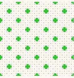 saint patrick day seamless pattern vector image