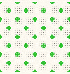 saint patrick day seamless pattern with vector image