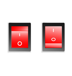 switch on off vector image