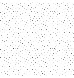 Drawing dotted pattern - seamless vector