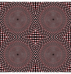 Optical seamless pattern vector image