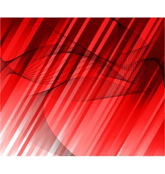 red ray background template vector image vector image