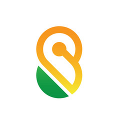Infinity concept symbol icon or logo vector