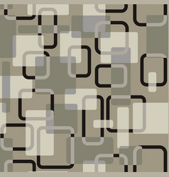 Abstract squares seamless vitage grey vector