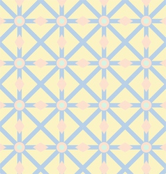 Asterisk Circle and Triangle Pattern on Pastel vector
