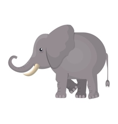 elephant indian isolated icon vector image