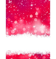 Glittery pink Christmas background EPS 8 vector image